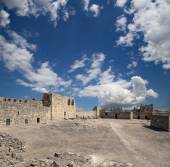 Ruins of Azraq Castle,  central-eastern Jordan, 100 km east of Amman — Stock Photo