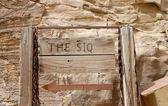 The 1.2km long path (As-Siq)  to the city of Petra, Jordan — Stock Photo