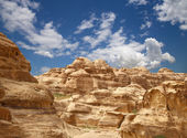 Mountains of Petra, Jordan, Middle East — Stock Photo