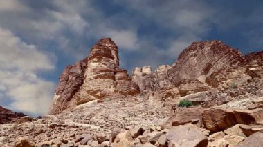Wadi Rum Desert,Jordan, Middle East — Stock Video