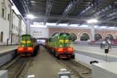 Kazansky railway terminal ( Kazansky vokzal) -- is one of nine railway terminals in Moscow, Russia. — Stock Photo