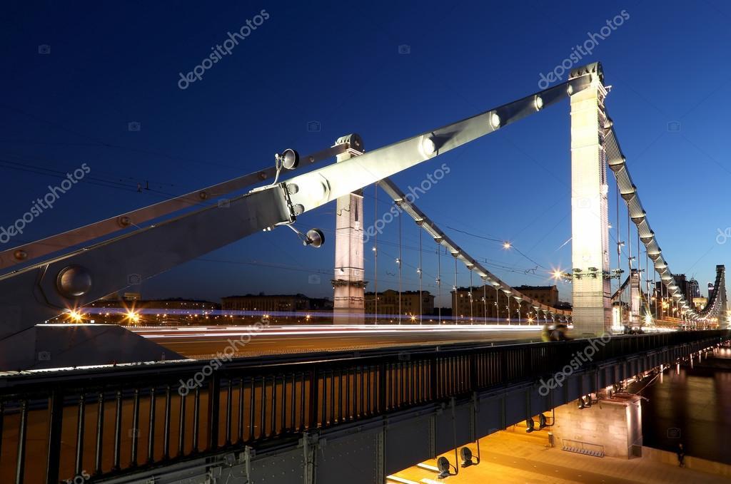 Krymsky Bridge. Moscow. Russia