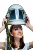 Dream about space flight — Stock Photo