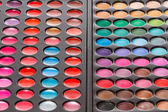 Colorful makeup palettes — Stock Photo