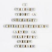 快乐圣诞邮件 — 图库照片