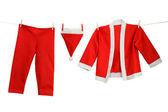 Santa costume — Stock Photo