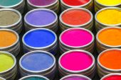 Colorful dyes — Stock Photo