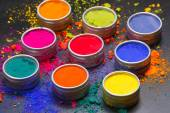 Colorful dyes — Foto de Stock
