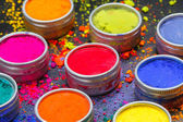 Colorful dyes — Foto Stock