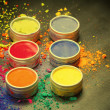 Colorful Indian dyes — Stock Photo #65162947