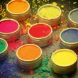 Colorful Indian dyes — Stock Photo #65162983