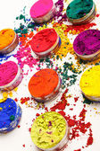 Colorful Indian dyes — Foto Stock