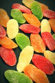 Candied dried fruits — Stock Photo