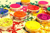 Colorful bright dyes — Foto Stock