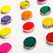 Colorful bright dyes — Stock Photo