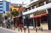 Jose Calama Street in Quito, Ecuador — Stock Photo