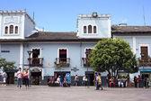 Plaza del Teatro in Quito, Ecuador — Stock Photo