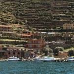 Постер, плакат: Yumani on Isla del Sol in Lake Titicaca Bolivia