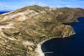 Isla del Sol in Lake Titicaca in Bolivia — Stock Photo