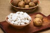 Tunta, Bolivian Dehydrated Potato — Stock Photo