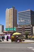 Camacho Avenue in La Paz, Bolivia — 图库照片