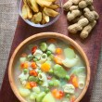 Bolivian Sopa de Mani (Peanut Soup) — Stock Photo #65319925