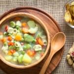 Bolivian Sopa de Mani (Peanut Soup) — Stock Photo #65319963