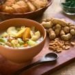Bolivian Sopa de Mani (Peanut Soup) — Stock Photo #67200085
