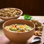 Bolivian Sopa de Mani (Peanut Soup) — Stock Photo #67200157