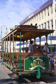 Old Tram Waggon in Iquique Chile — Stock Photo