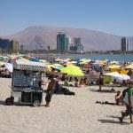 Cavancha Beach in Iquique, Chile — Stock Photo #68876115