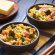 Постер, плакат: Pasta Broccoli and Tomato Casserole