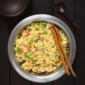 Vegetarian Couscous Salad — Stock Photo
