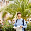 Tourist with map in hands — Stock Photo #70194767