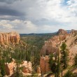 Rain clouds over Bryce Canyon — Stock Photo #57775965