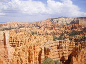 Summer Thunder clouds over Bryce Canyon — Photo