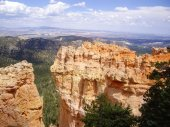 Sandstone of Bryce Canyon — Stock Photo