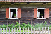 Windows of house — Fotografia Stock