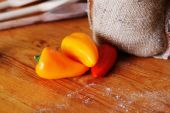 Ripe peppers — Stock Photo
