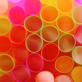 Color straws — Stock Photo