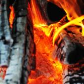 Bright flame — Stock Photo