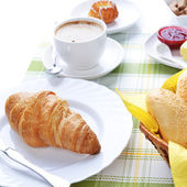 Food for breakfast — Stock Photo