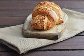 Fresh baked bun — Stock Photo
