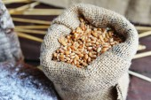 Bag with grain  — Stock Photo