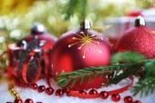 クリスマスのおもちゃおよびギフト — ストック写真