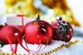 Regalos y juguetes de navidad — Foto de Stock