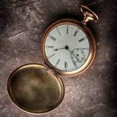 Old  gold watch — Stock Photo