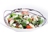 Salad of vegetables and meat — Stock Photo