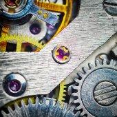 Watch mechanism close up — Stock Photo
