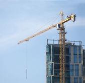 Skyscraper building activity — Stock Photo